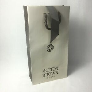 MOLTON BROWN Paper Gift Bag & Ribbon H28xW15xD9 cm
