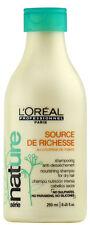 L'OREAL SERIE NATURE SOURCE DE RICHESSE NOURISHING SHAMPOO 8.45 OZ / 250 ML