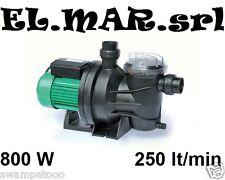 ELETTROPOMPA per PISCINA HP 1 Pompa Monofase con prefiltro 800 W 250 lt/min