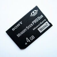 Original Sony 4GB Memory Stick Pro Duo Magic Gate,Mark2 High Speed Memory card