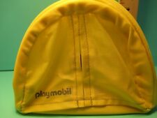 Playmobil structure YELLOW POP-UP TENT 5 inches high w/ flap opening