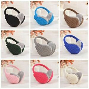 Ear Muffs Earmuffs Ear Warmer HeadBand Plush Ladies Men Girls Boys Winter Hot