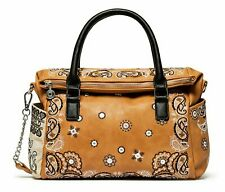 Desigual Bandana Explosive Loverty Hand Bag Handtasche Umhängetasche Marron