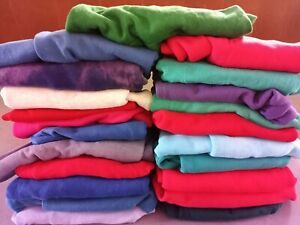Wholesale Lot 22 Vintage Blank CrewNeck Sweatshirt USA Made Unisex 70s 80s 90s