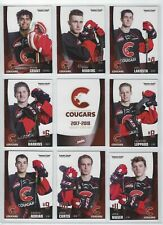 2017-18 Prince George Cougars (WHL) complete 27 card team set