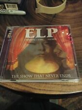 EMERSON LAKE & PALMER - THE SHOW THAT NEVER ENDS - CD 2001