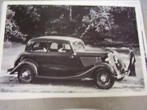 1933 FORD VICTORIA 12 X 18 LARGE PICTURE   PHOTO