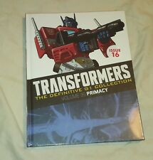 Transformers The Definitive G1 collection issue 16 Volume 35 (Brand new sealed)