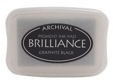 Brilliance Ink Pad - Graphite Black