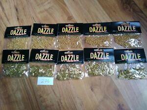 Job Lot Bundle Bugle Seed Beads Christmas Jewellery Making Decoration Card Craft