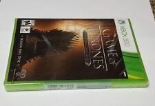 Game of Thrones - A Telltale Games Series  (Microsoft Xbox 360, 2015)