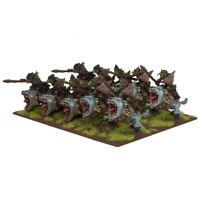 Mantic Kings of War 10x Goblin Fleabag Rider Regiment (Unboxed NO COMMAND squig)