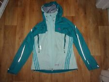 Adidas Gore-tex Active, Jade & Mint Green ladies waterproof Jacket size UK 12