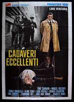 Werbeplakat Körper Vorzüglich Francesco Rosi Lino Ventura, Tina Aumont 1976 M100