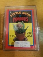 1986 Little Shop Of Horrors TOPPS STICKER story cards, complete set.  Mint cond.