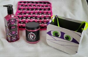 4 Pc Candle & Hand Soap Halloween Set – Brand new & Factory Sealed (Bath & Body