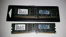 2 Samsung PC2700U-25331-Z M368L3223FTN-CB3 256MB DDR PC2700 CL2.5 RAM