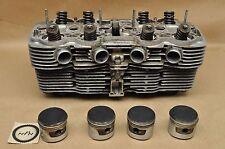 Vintage 1976 Honda CB750 K Cylinder Head Jug w/ Valves & Piston A93