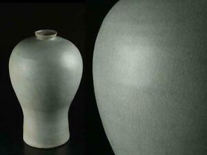Korean Goryeo Dynasty Celadon Jar Flower Vase / H 36.2[cm]