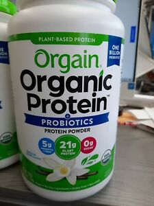 Orgain USDA Organic Plant Protein Powder, Vanilla  2.74-pounds. Exp. 2023