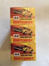 Matchbox Superfast No. 44, BOSS Mustang, - Superb Mint. X3 Shop Sealed