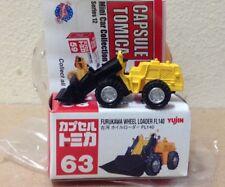 Capsule Tomica ConstructIon 63 Furukawa Wheel Loader FL40 2006 series 12 Yujin