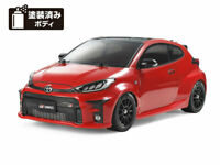 Tamiya 1/10 Electric RC Car Toyota GR Yaris M-05 Chassis 58684 Painted Body