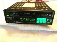 """Old School"" Alpine 7192, Stereo Cassette Receiver, ""pull-out"""