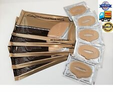 (10) 5x Gold Bio Collagen Neck Pad Mask + 5x Gold Lip Mask Moisturize Lot Sale