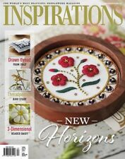 Inspirations embroidery magazine #97 NEW free shipping