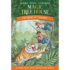 Tigers at Twilight (Magic Tree House) - Paperback NEW Osborne, Mary P 1999-10-01