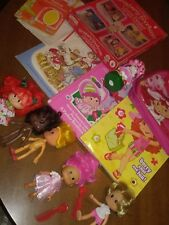 Strawberry Shortcake figure lot...old and new