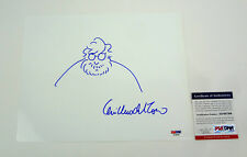 Guillermo Del Toro The Shape of Water Signed Autograph Self Sketch PSA/DNA COA