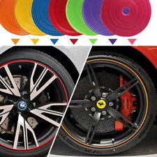 8m Rosso Premium Lega Ruota Scratch Proof cerchione nastro strisce adesivi UK STOCK