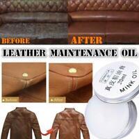 Mink Oil Cream Cloth Wallet Sofa Shoe Car Cushion Maintenance Leather Care Best
