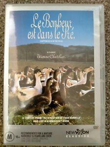 Le Bonheur est dans le Pre (Happiness is in the field) R4 DVD - VGC - Free Post