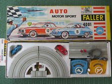 Faller 4001 Complete Package with Ferrari Gt and Porsche 911