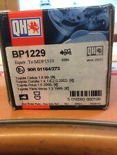 Toyota Celica/corolla/yaris/prius Rear Brake Pads BP1229