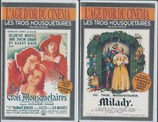 LES TROIS MOUSQUETAIRES ... L'INTEGRALE ... BLANCHE MONTEL, HARRY BAUR .. 2 VHS