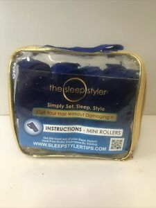 The Sleep Styler Mini Rollers 12 Count