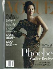 VOGUE Magazine December 2019 Issue Phoebe Waller-Bridge Cover -- Holiday Fashion