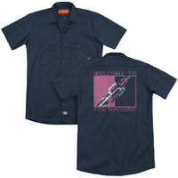 PINK FLOYD WELCOME Licensed Adult Men's Dickies Graphic Work Band Shirt SM-3XL