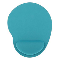 Comfortable Soft Silicone Gel Rest Wrist Support Mouse Pad Mouse Mat for Office