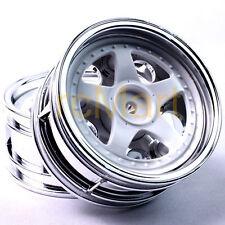 Tamiya 5-Spoke 2-Piece Wheels 26mm EP 1:10 RC Car Touring On Road #50672