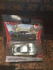 Disney Pixar CARS 2 Exclusive 1:55 Die Cast Car SILVER RACER Lewis Hamilton W...