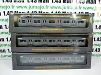Lot 3 Automotrices SNCF 1/87 train HO rame Z 5100 zbd 5101 15101 25201