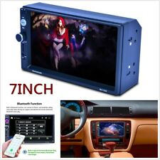 """7"""" 2 DIN Car In-dash Video Player MP5 MP3 FM Bluetooth Touch Screen Stereo Radio"""