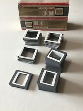 Slide Mounts 35mm slide film Frames 100 Pieces Glassless Star D Glassless Mix