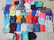 53 Clothing Lot Abercrombie Aero American Eagle size XS S Shirt Shorts Dress