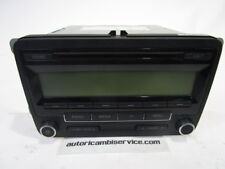 1K0035186AA AUTORADIO VOLKSWAGEN GOLF 6 1.4 B 3P 6M 90KW (2009) RICAMBIO USATO (